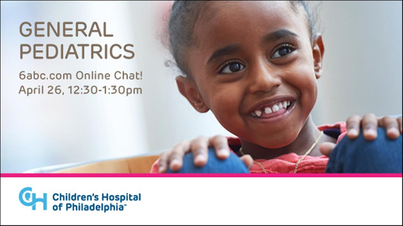 CHAT WITH CHOP - TOPIC: GENERAL PEDIATRICS