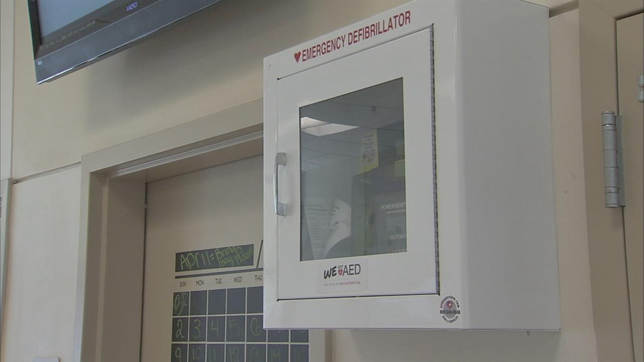 Non-profit launches AED campaign