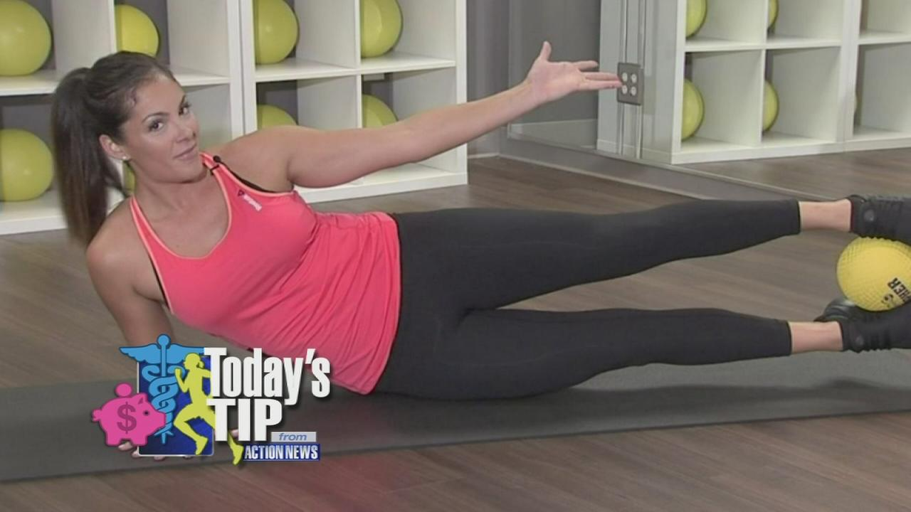 Todays Tip: Toning the waist