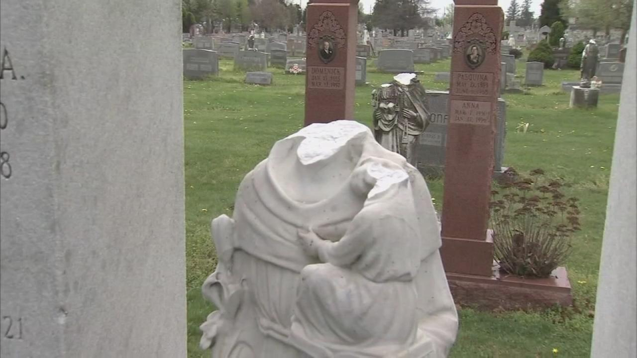 Easter visitors discover disturbing sight at cemetery
