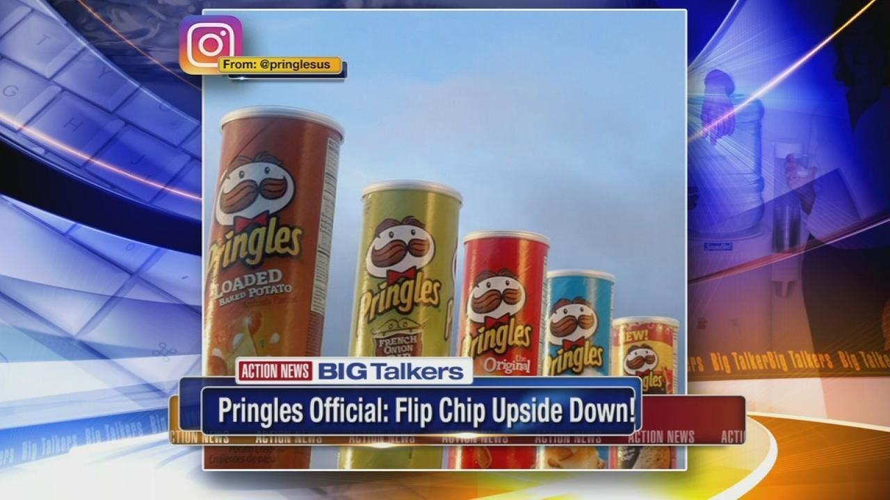Pringles spokesperson reveals best way to eat chips