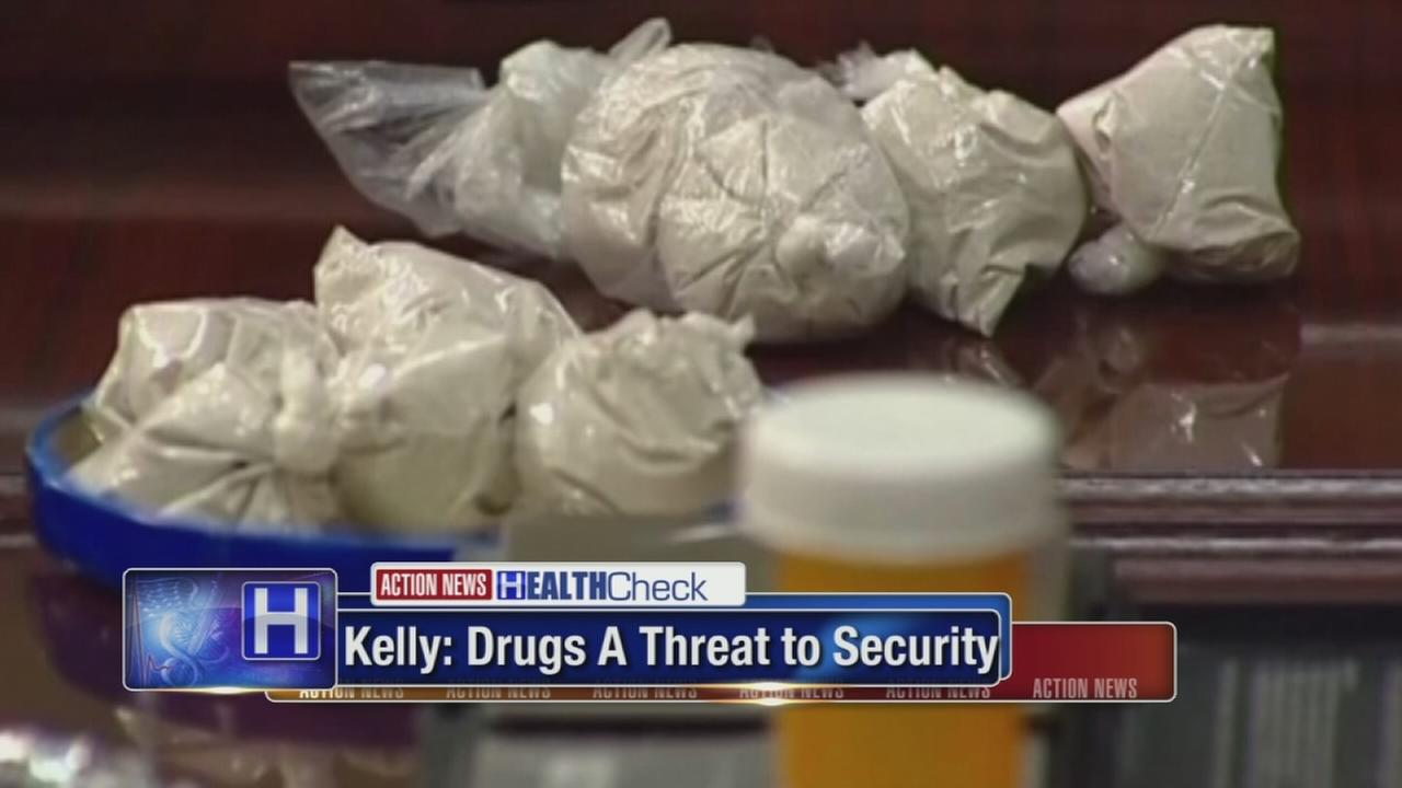 Kelly: Drugs are a threat to homeland security