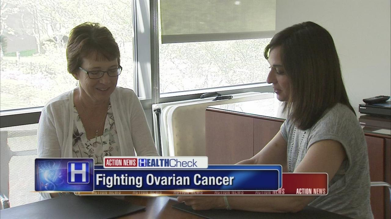 Ovarian cancer survivor prepares for Sandy Sprint, with help from new drug