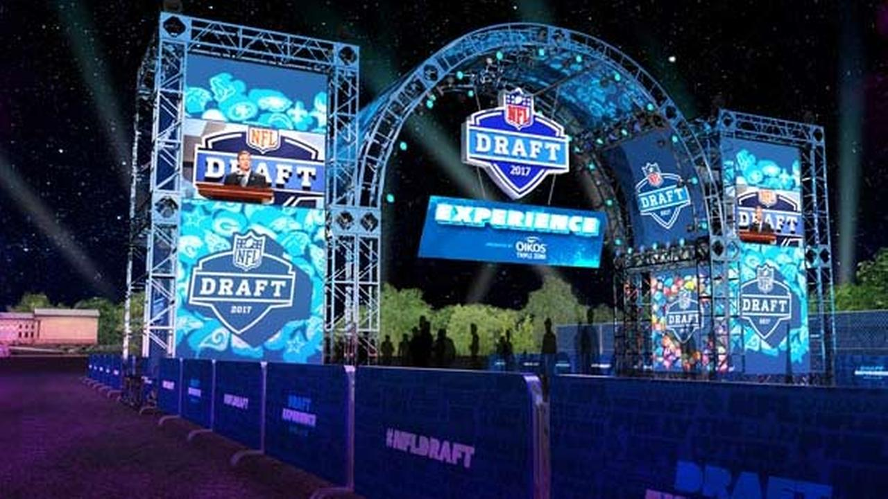 Free fan opportunities for NFL Draft in Philadelphia