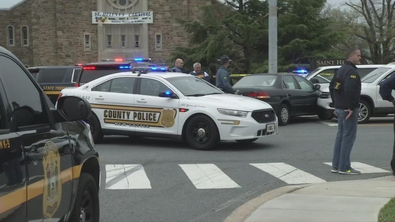 Suspect killed by police after confrontation in Delaware