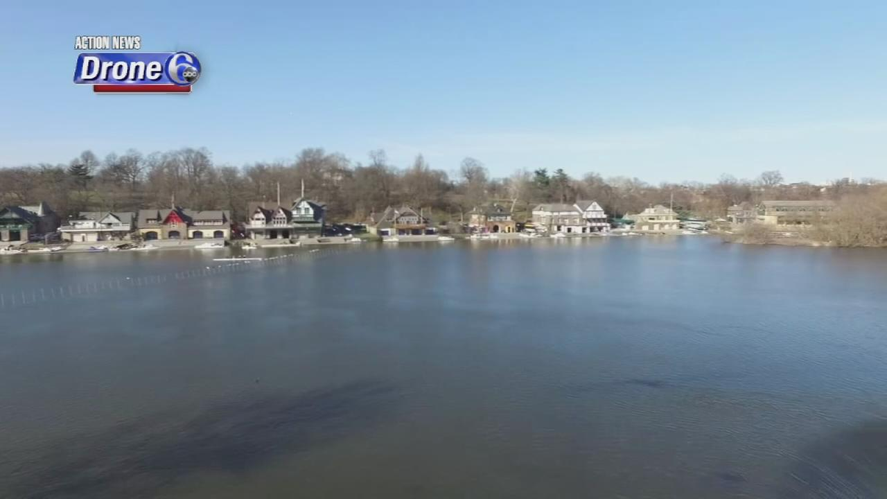 VIDEO: Drone 6 over Boathouse Row