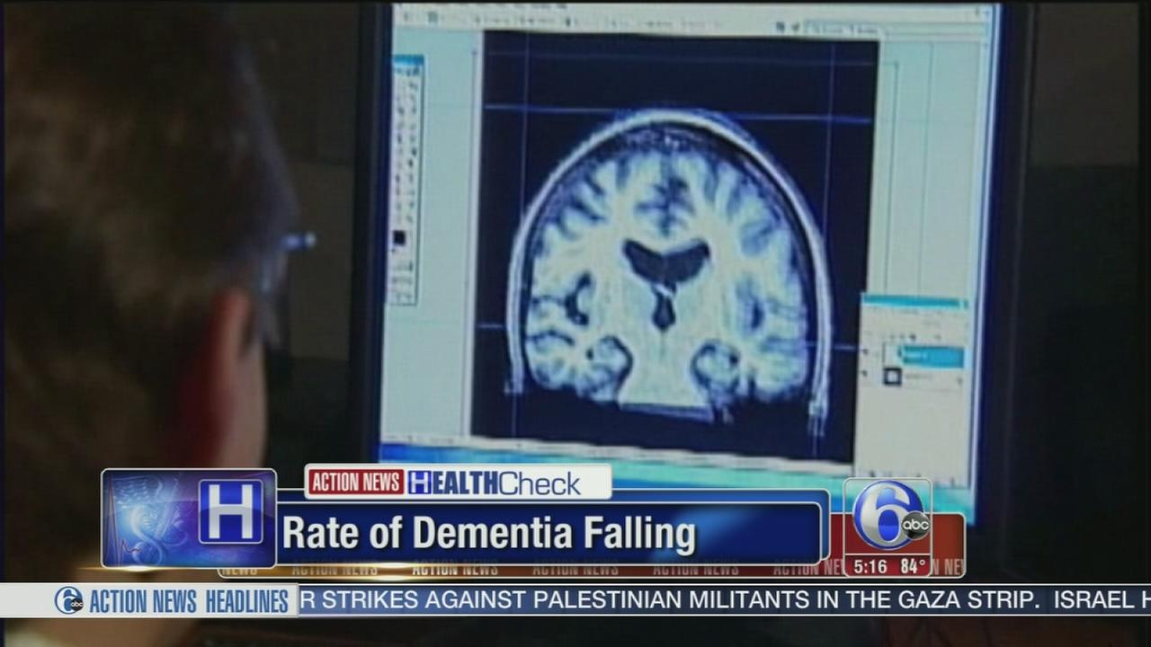 VIDEO: Rate of dementia falling