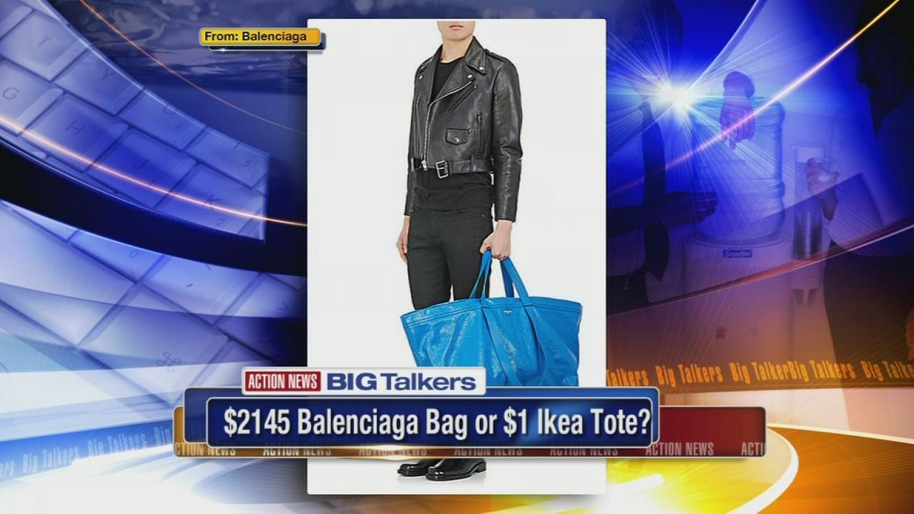 Balenciagas new tote resembles IKEAs famous blue bag