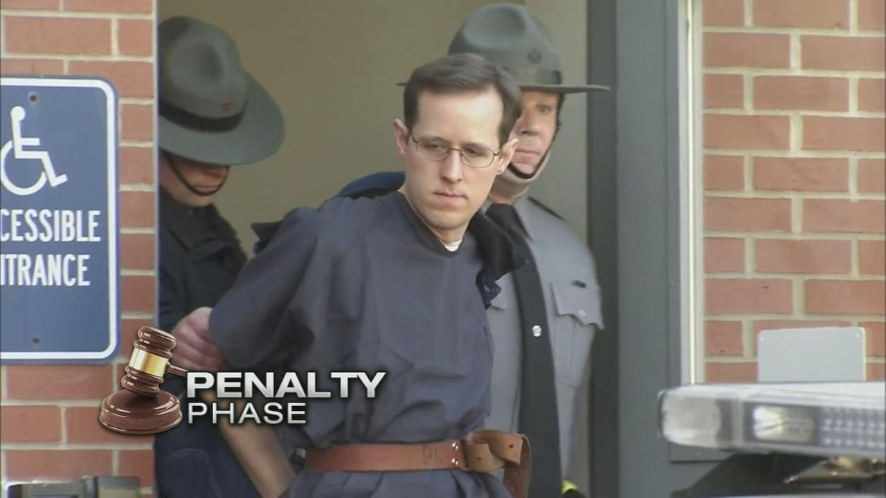 Murdered troopers wife testifies in Frein sentencing hearing