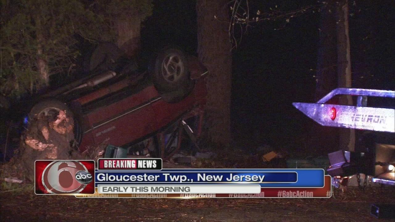 2 hurt in Gloucester Twp. crash