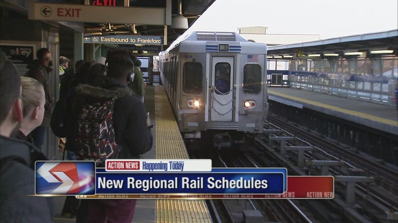 VIDEO: SEPTA begins new Regional Rail schedules