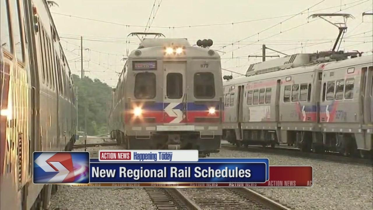 VIDEO: New Regional Rail schedules