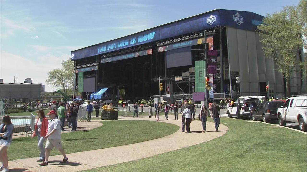 Phase 3 of NFL Draft traffic restrictions begins Monday evening