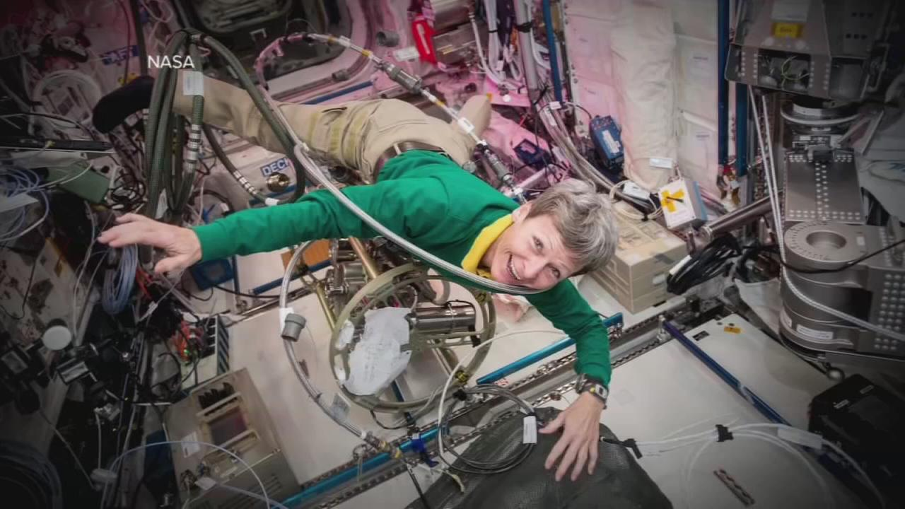 Astronaut Peggy Whitson makes history