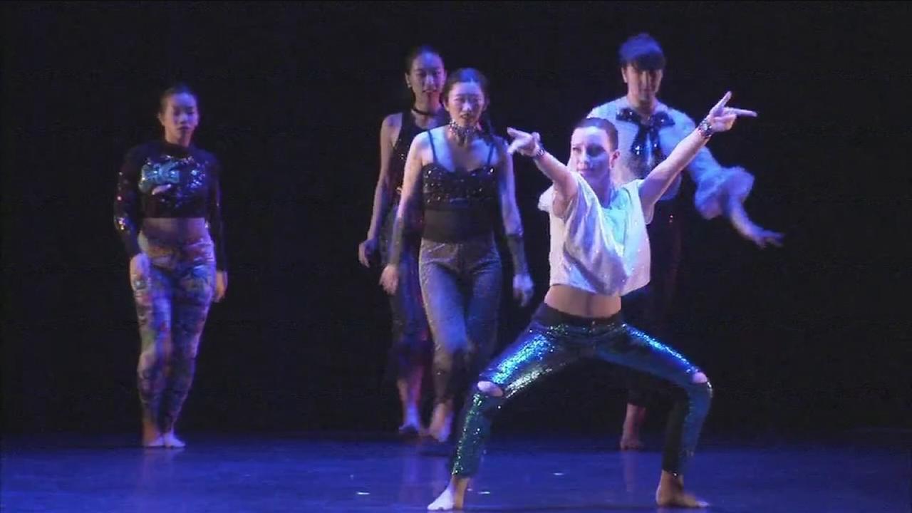 Bryn Mawr College dance concert