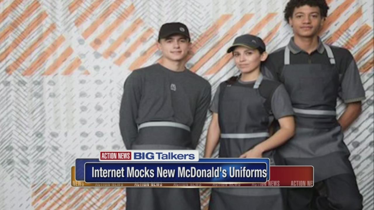 McDonalds reveals new uniforms to mixed reviews