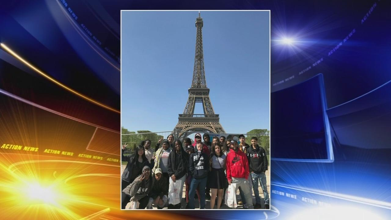 Camden students conquer money woes for Paris trip