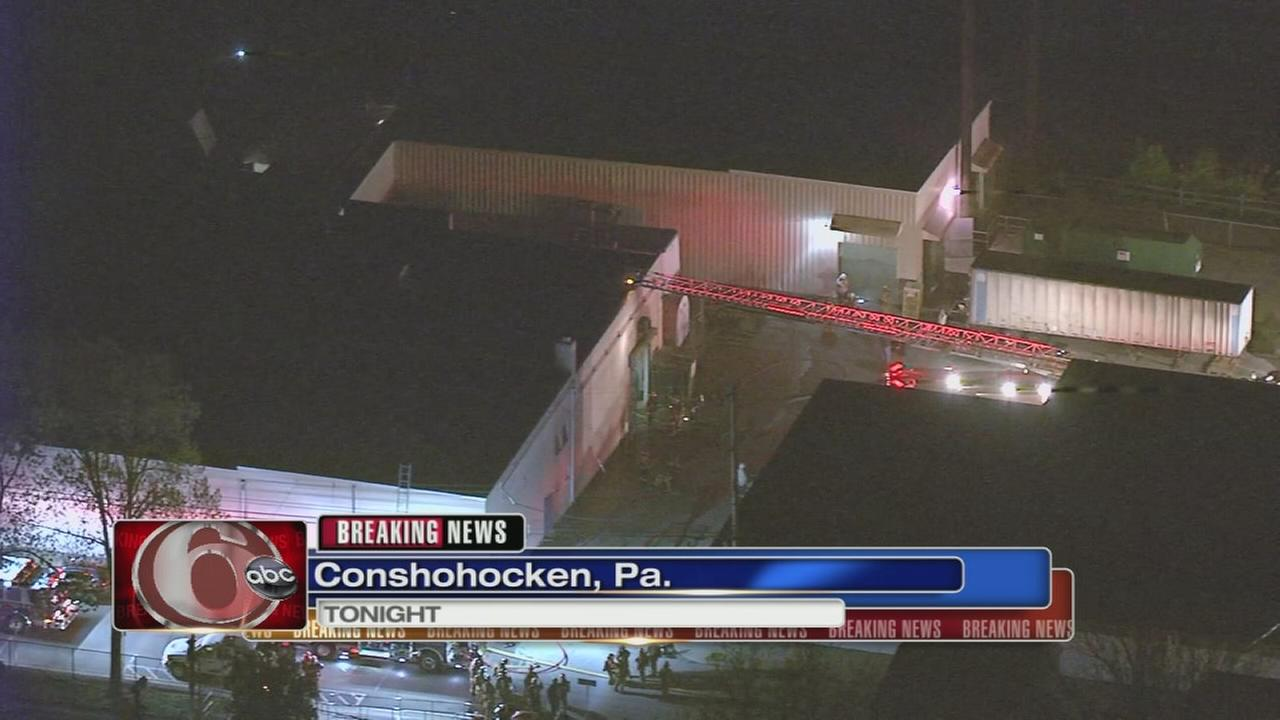 2-alarm fire breaks out in Conshohocken