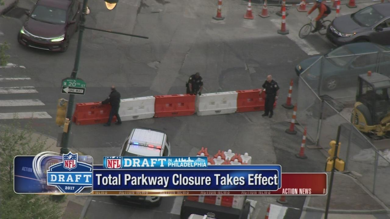 Total Parkway closures take effect