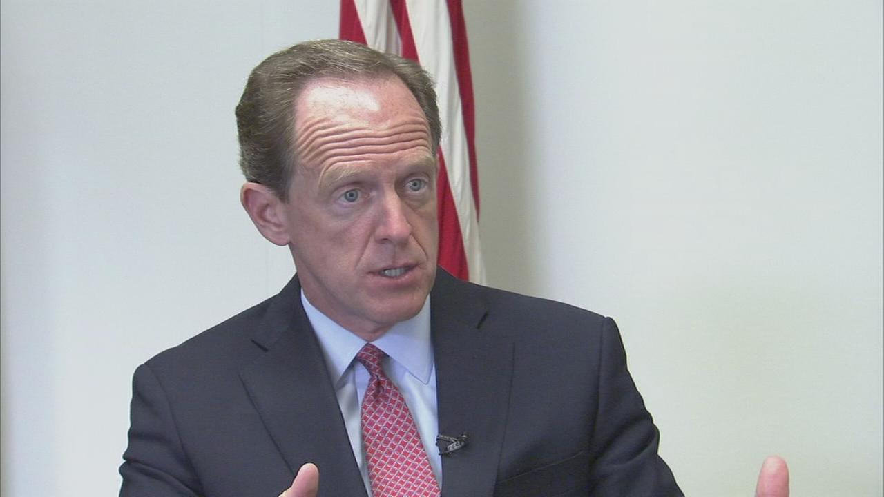 Senator Pat Toomey reviews Trumps first 100 days