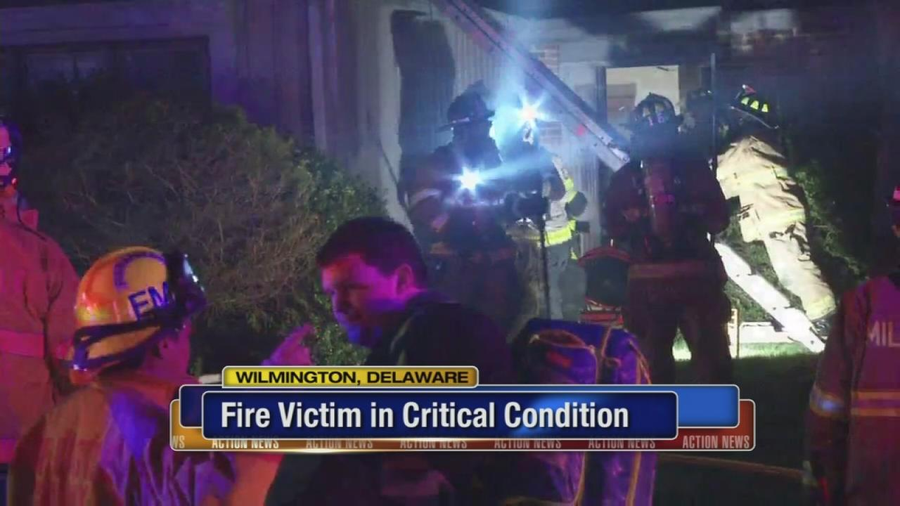 Man, 87, rescued from garage fire