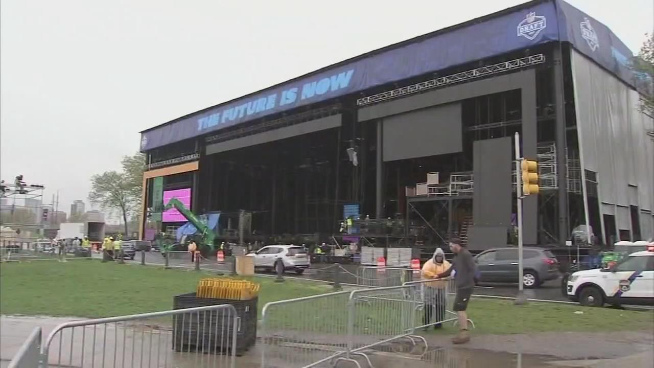 Officials: Make plans to get around for NFL Draft, Penn Relays