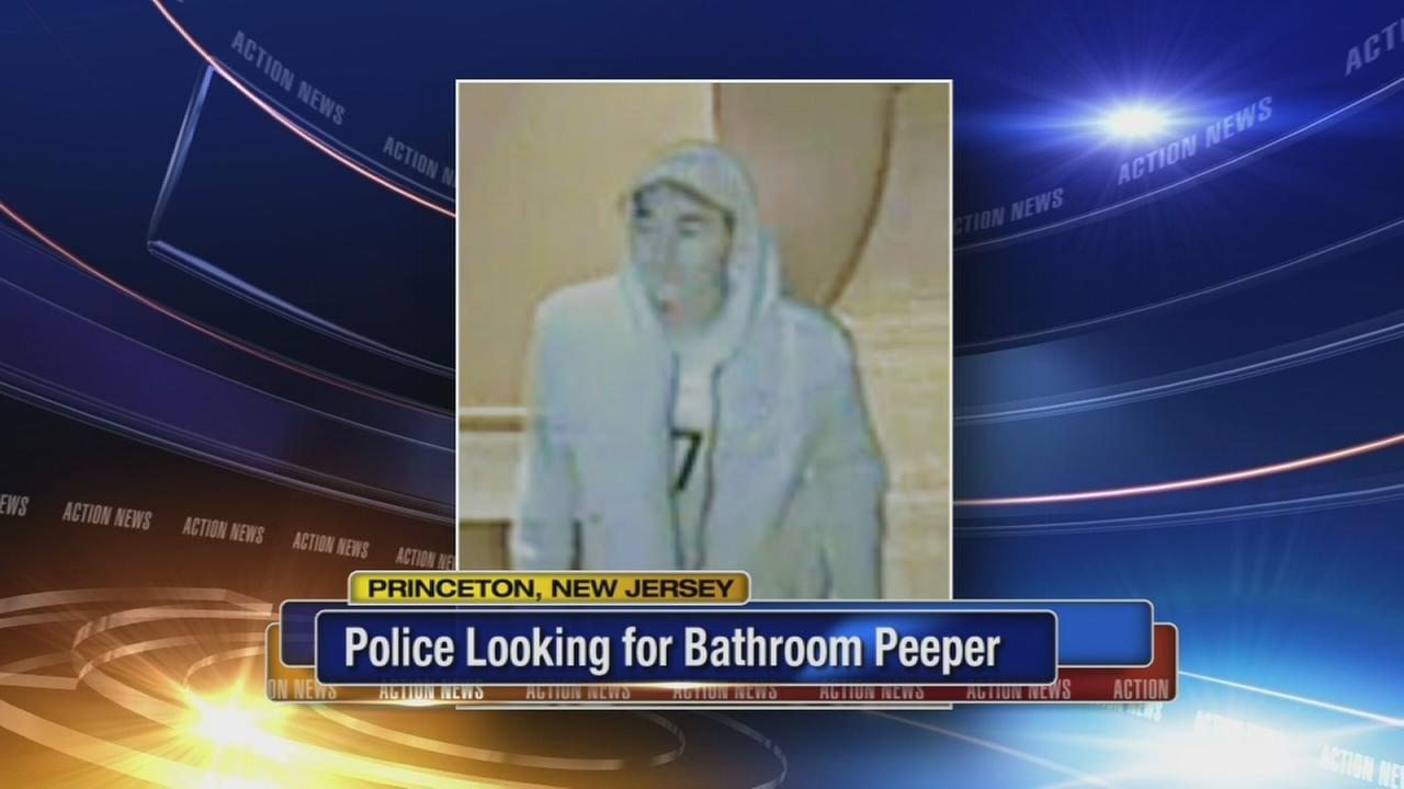 Peeper caught on camera in Princeton