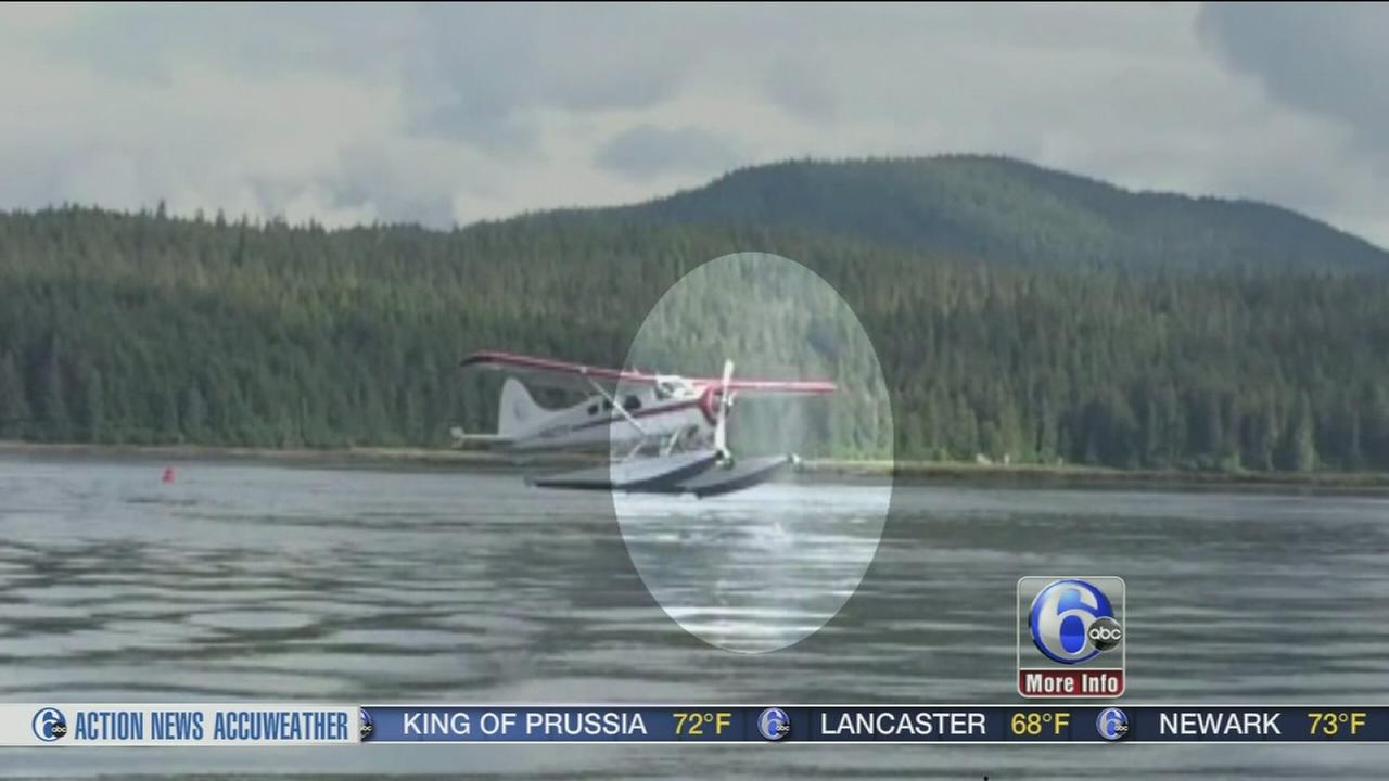 VIDEO: Seaplanes close encounter with a whale