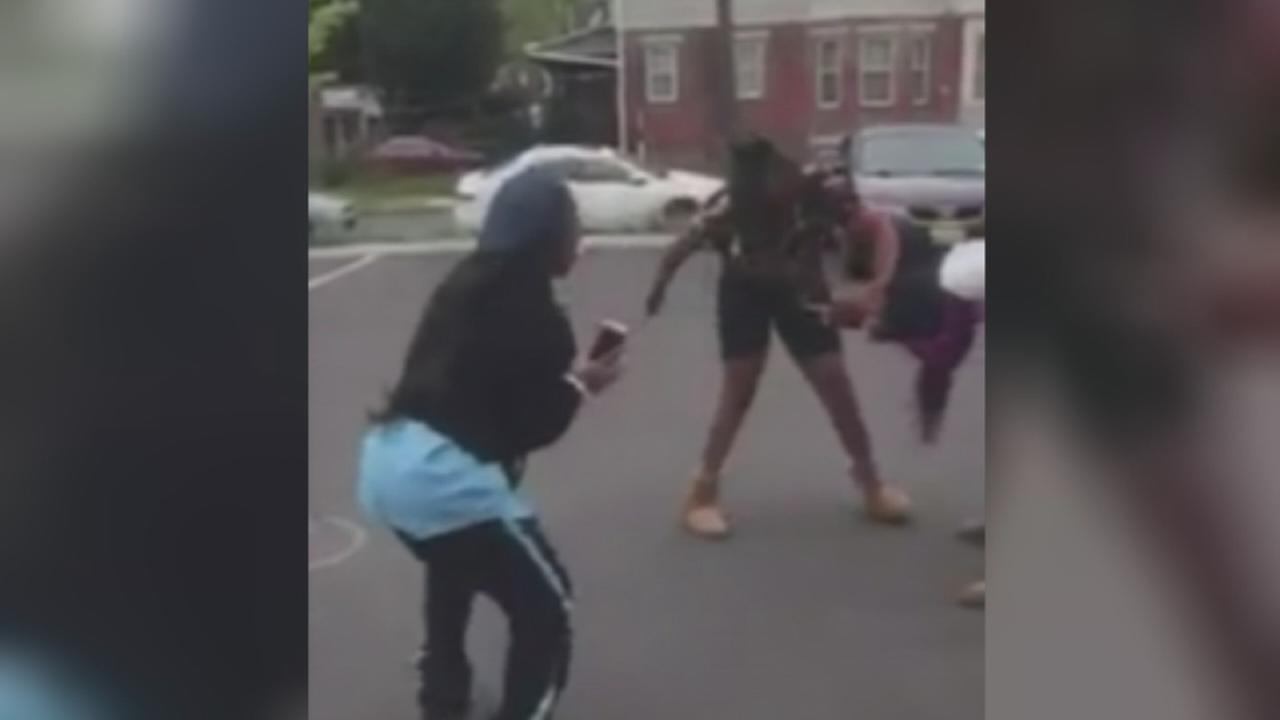 VIDEO: School guard cheers fight at NJ McDonald?s