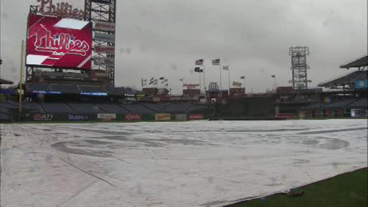 Phillies game postponed due to rain