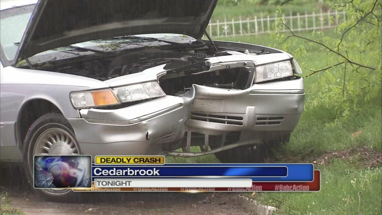 Man killed in Cedarbrook crash