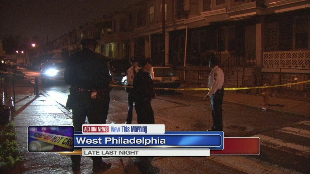 Victim robbed and shot in West Philly