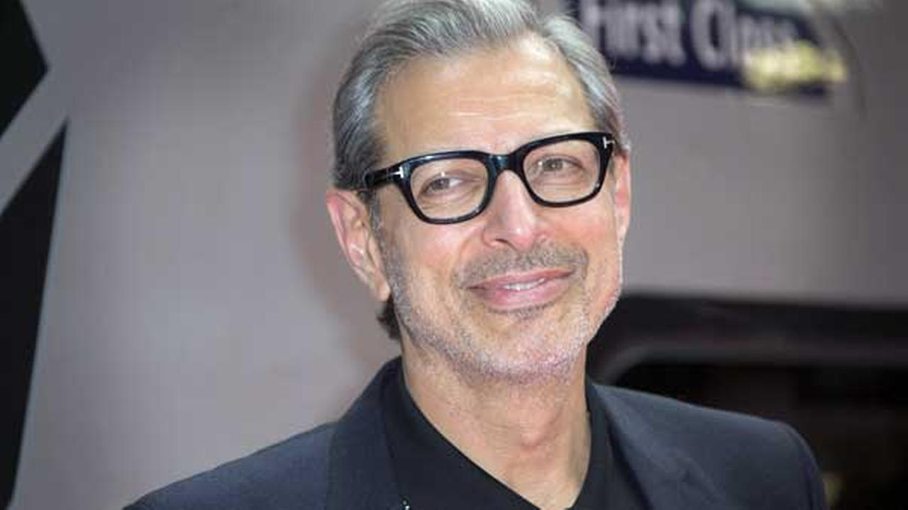 FILE - In this June 6, 2016, file photo, actor Jeff Goldblum poses for photographers at the photo call for the film Independence Day Resurgence at Euston Station in London.