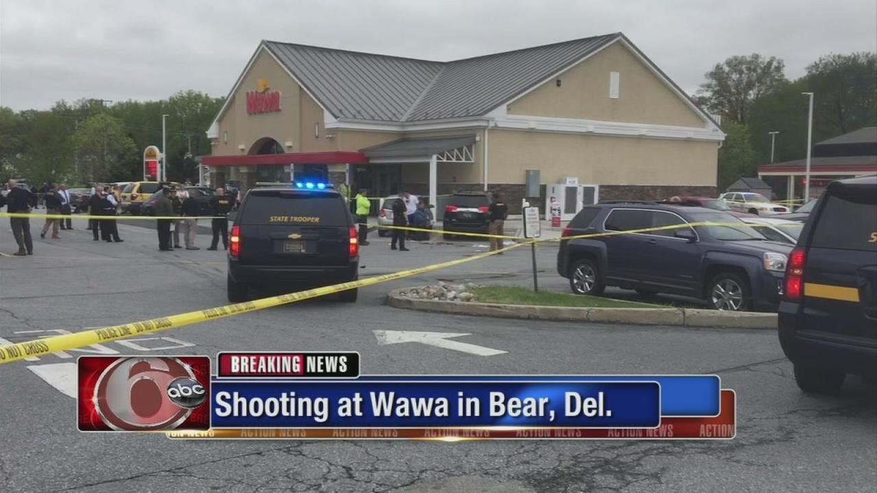 Shooting at Wawa in Bearl, Del.