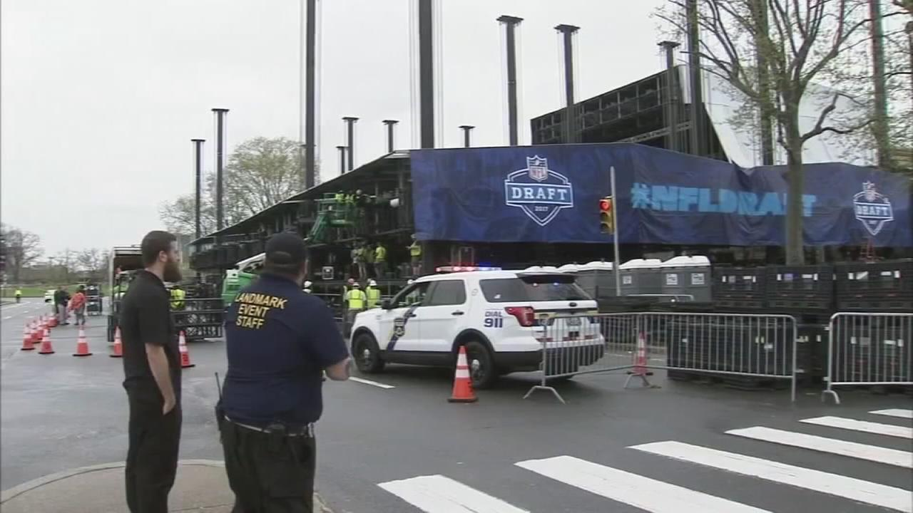 VIDEO: List of restricted items announced for NFL Draft