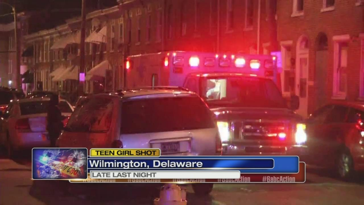 Girl dies after being shot in Wilmington