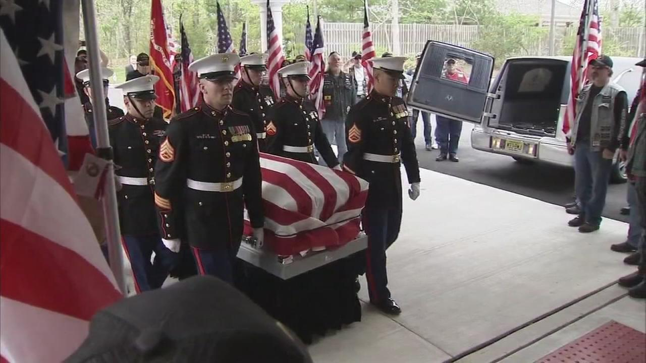 Fallen Marine returns home to Egg Harbor Twp.
