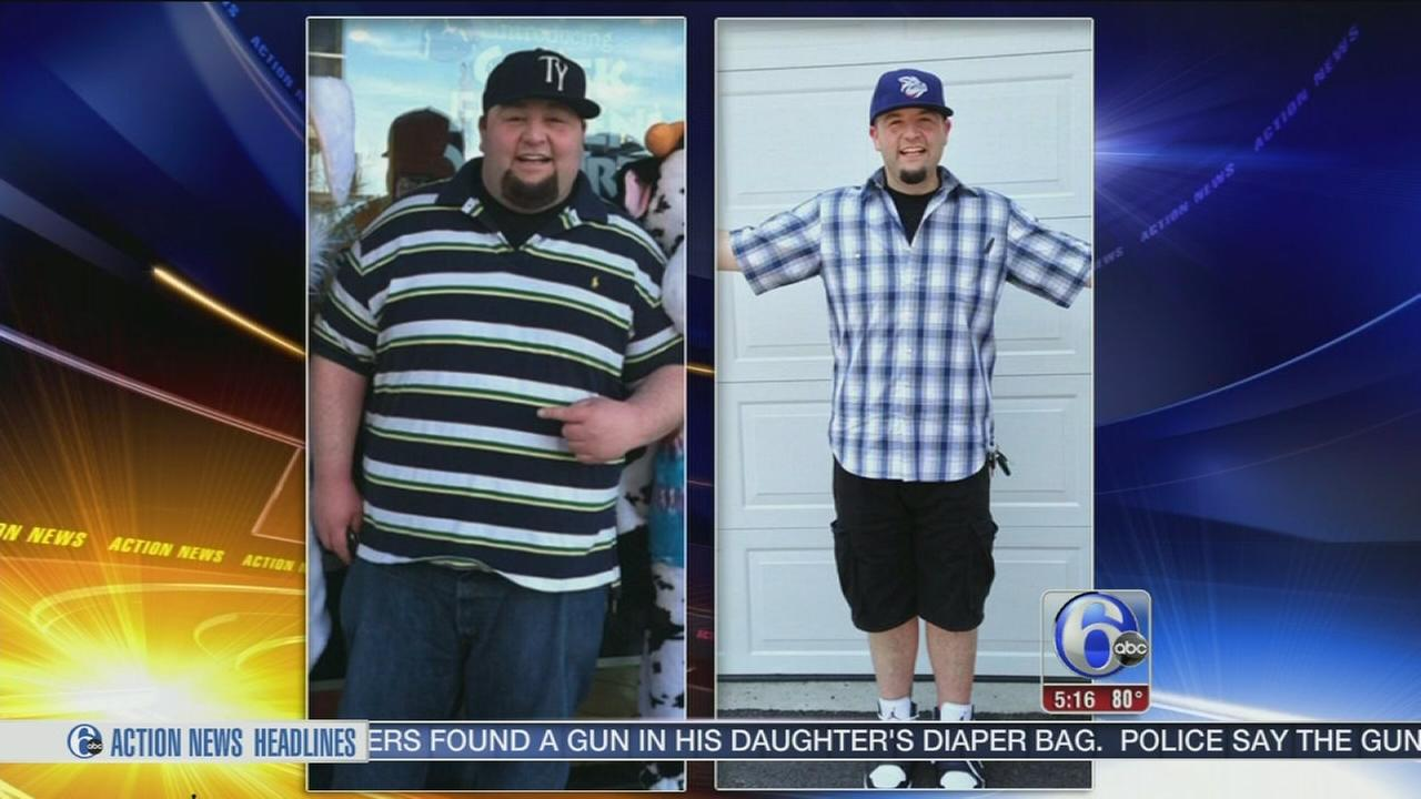 VIDEO: Local radio DJ drops 221 pounds!