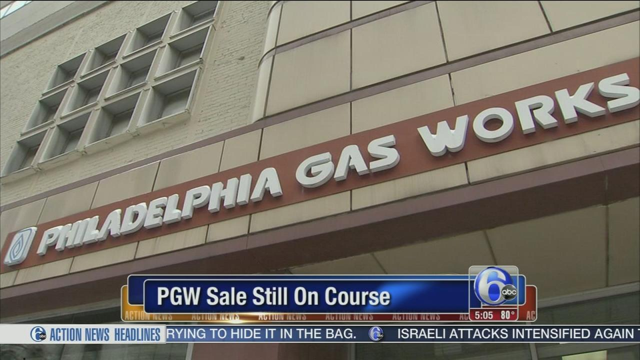 VIDEO: PGW sale still on course