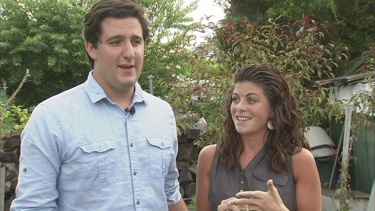 VIDEO: Local couples proposal caught on Action News