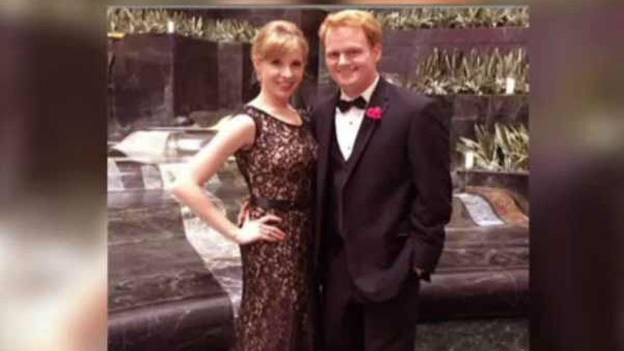 Here is a photo of reporter Alison Parker, 24, and her boyfriend. anchor Chris Hurst.