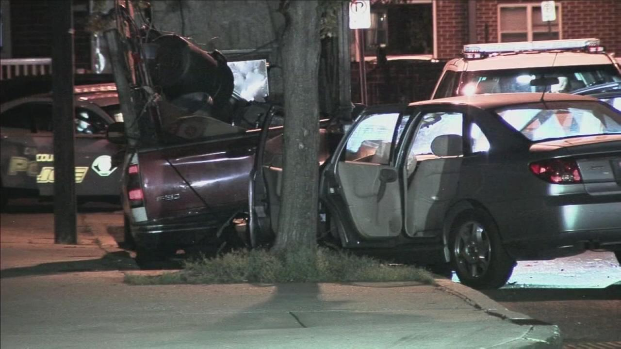Young woman shot multiple times in moving car in Camden
