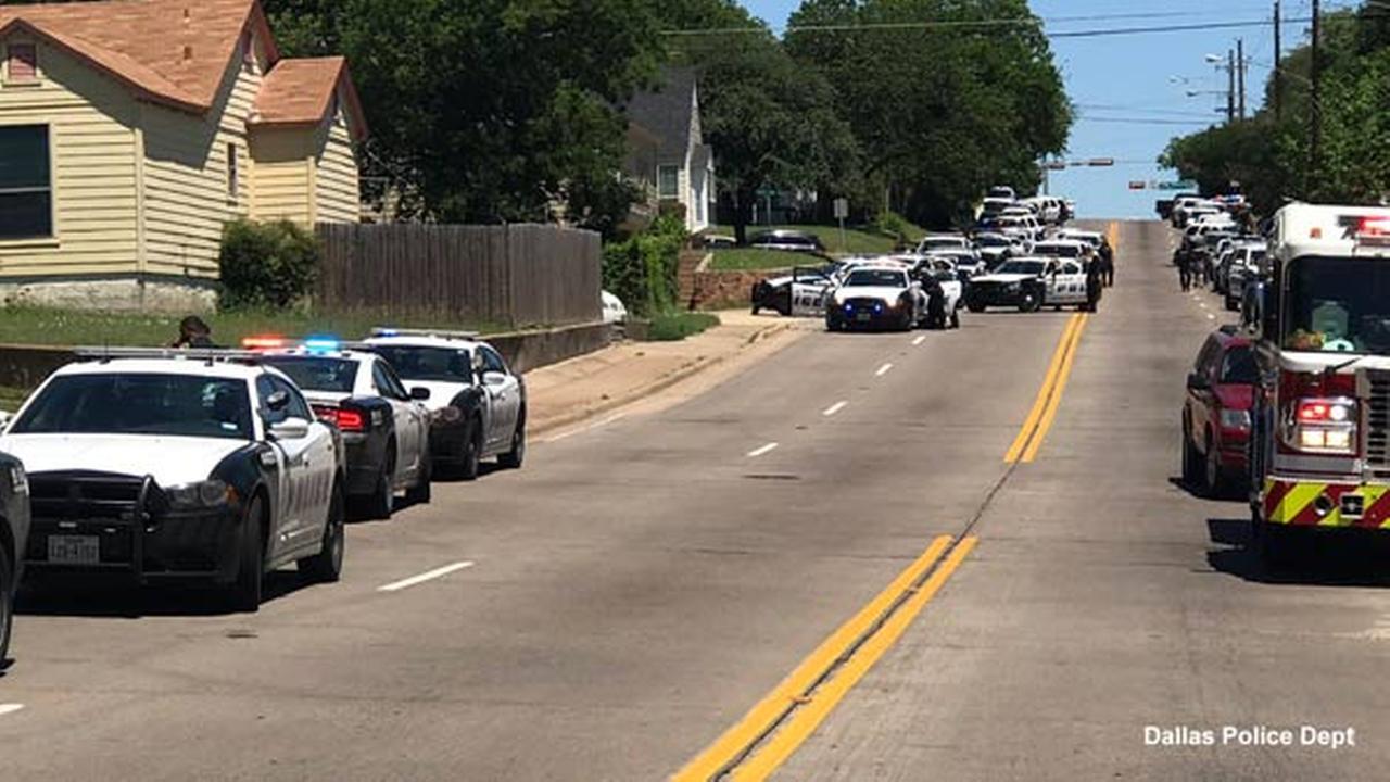 Police: Dallas paramedic shot, critically hurt; scene active