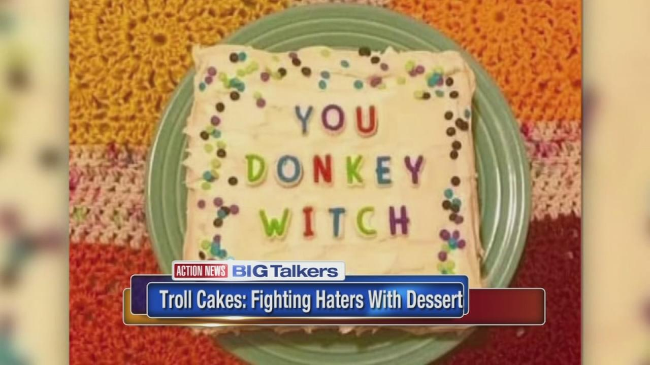 Troll cake lets you clap back against your haters