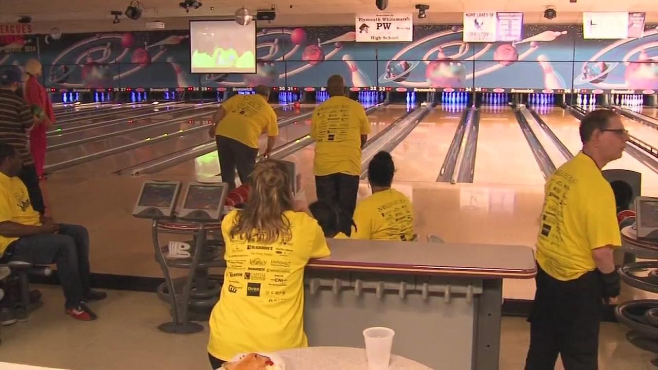 N.H.S. annual bowling fundraiser