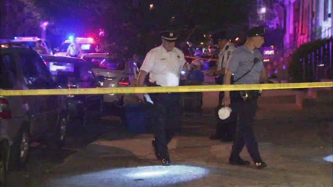 Shooting victim found in street
