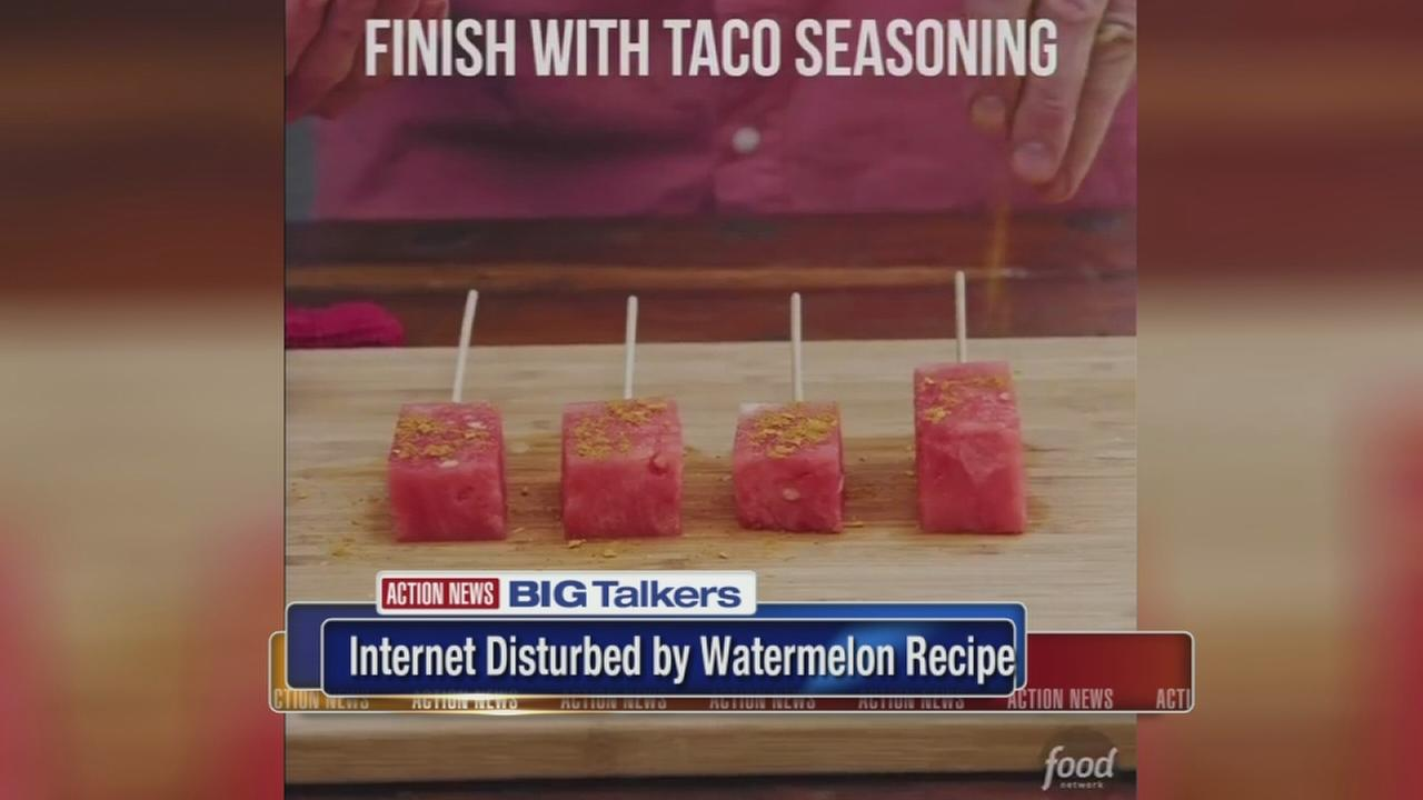 Social media erupts after chef puts taco seasoning on watermelon