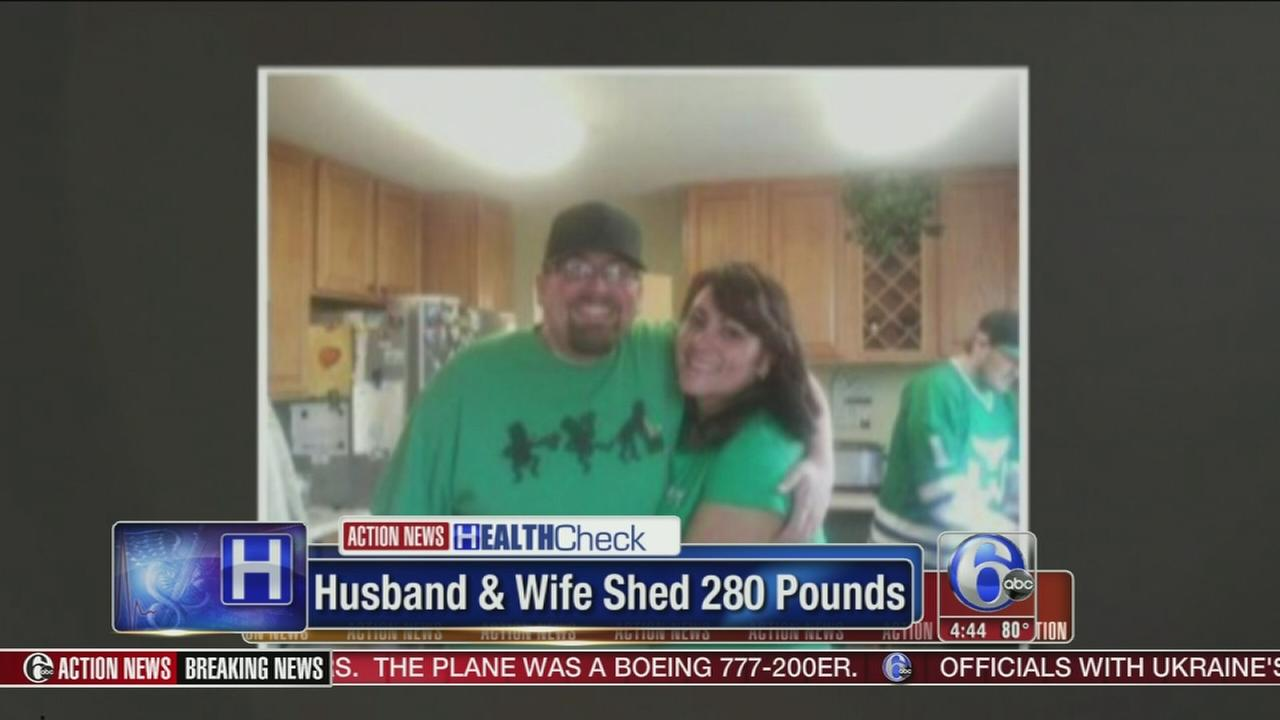 VIDEO: Couple loses nearly 300 pounds together