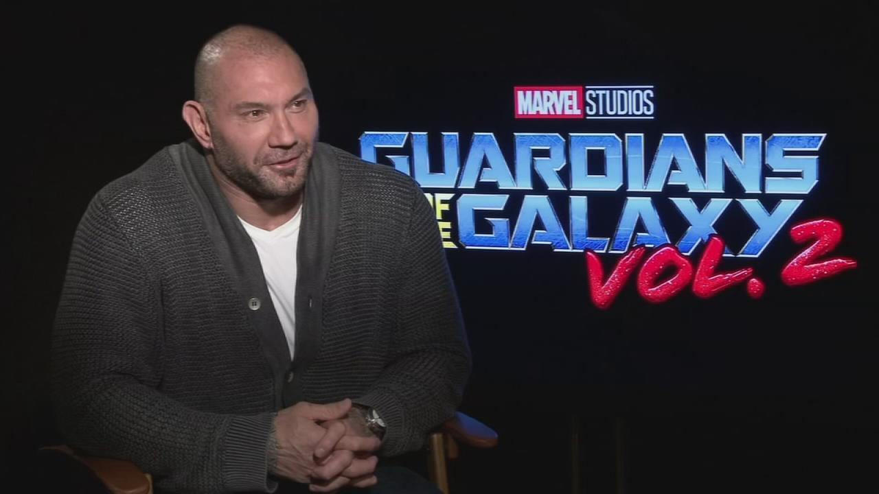 VIDEO: Alicia talks to David Bautista