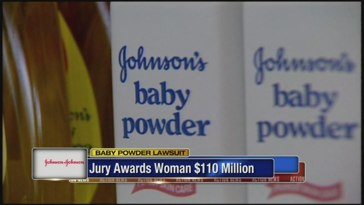 Jury awards record-setting $110.5M in baby powder lawsuit